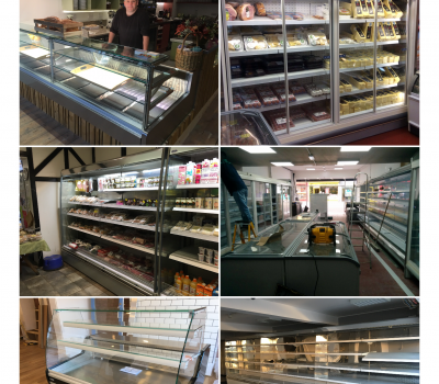A few of our recent installs showing different types of refrigeration