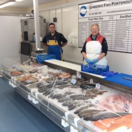 Ex-supermarket cold store and fish display newly installed