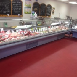 Criosbanc multiplex butchery counters, new condensors
