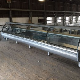 Euro-Cryor large 5m butchery counter