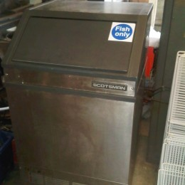 Scotsman repo ice maker, 85kg machine