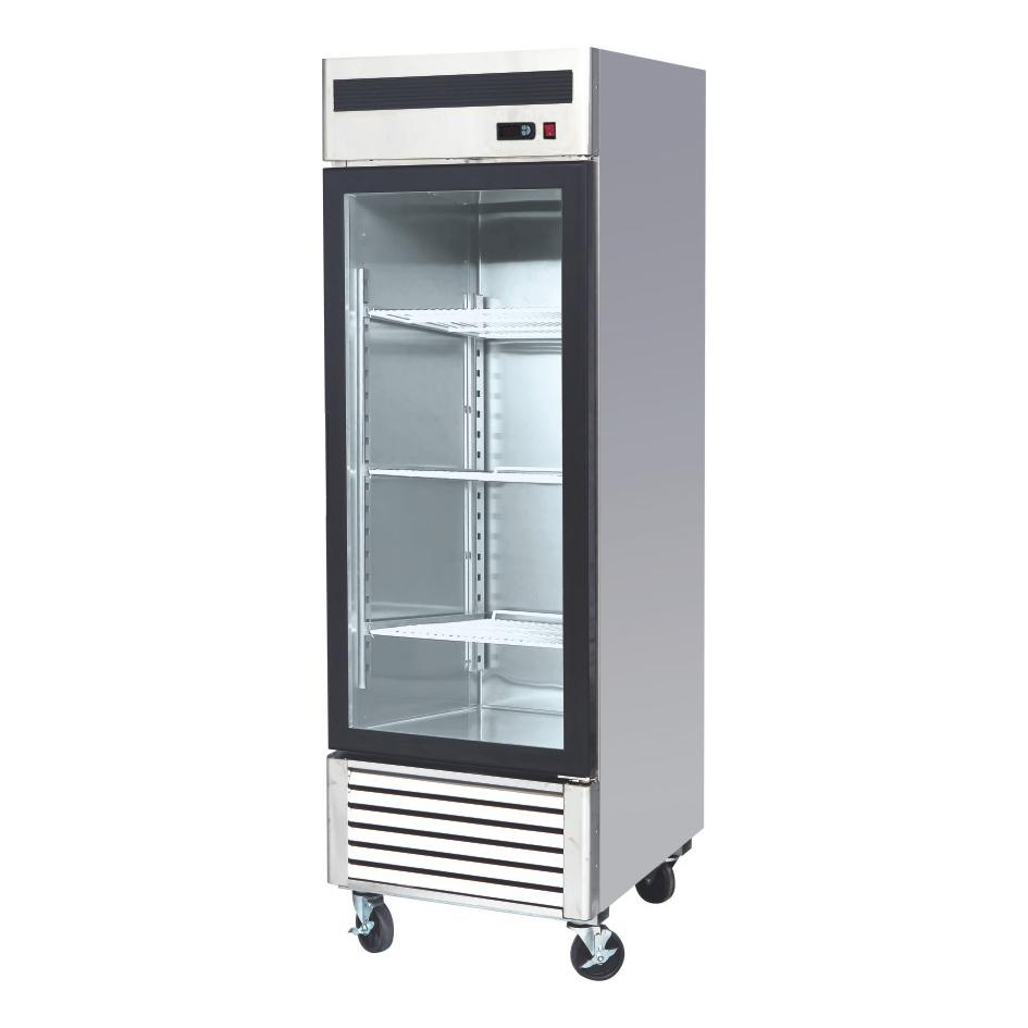 Glass door fridges and freezers area refrigeration single door 685mm w x 800mm d x 2130mm h planetlyrics Choice Image