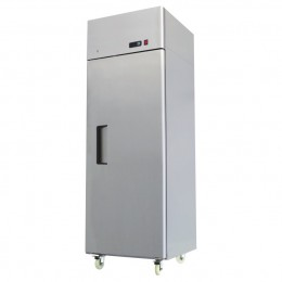 Single door slimline chiller -2 / +2, all stainless, high ambient