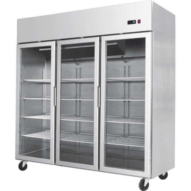 Glass Door Fridges And Freezers Area Refrigeration
