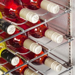 Wine racking is available as an extra